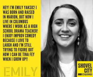 Shovel City Bio - Emily Yaksic