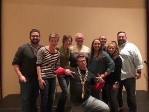 Shovel City Improv - Full Group after first show - 10-26-18